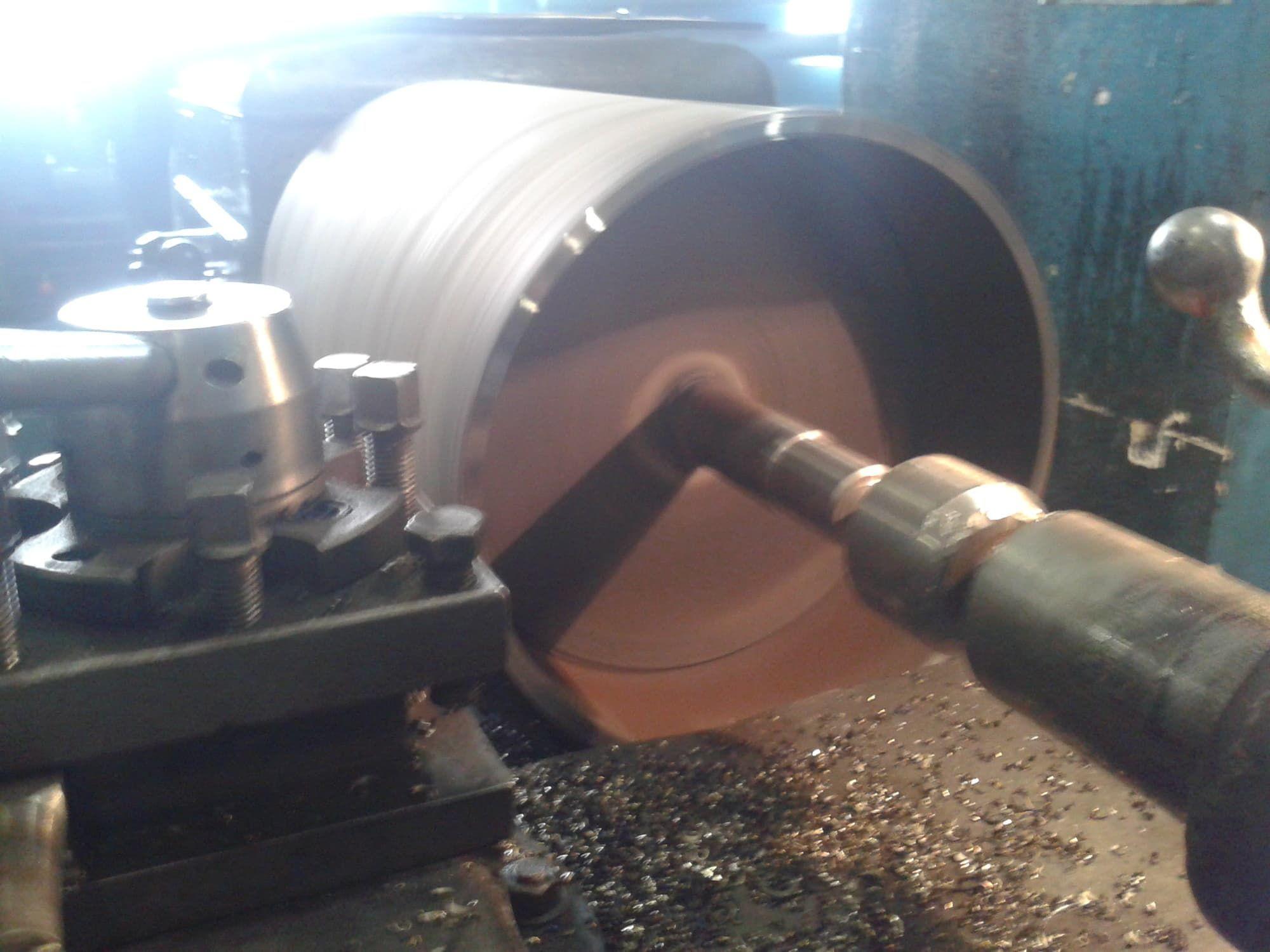 Изготовление барабана для конвейера линейка двигателей фольксваген транспортер
